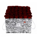 Mila-Roses-01512 Mila Limited Edition Cochain - Rubis Rouge